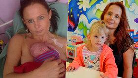 Těžký osud Leonky (3): Máma feťačka ji nechtěla, nechala se kopat do břicha!