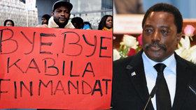 Prezidentem na věčné časy: Kabila odmítl vyhlásit volby, občané se ho nedokáží zbavit