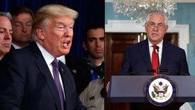 Šéf americké diplomacie popírá zvěsti o rezignaci. Tillerson dál jedná s KLDR