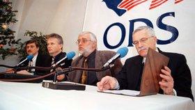 Klausovi zemřel bývalý spojenec. Dvořák (†67) byl místopředsedou ODS