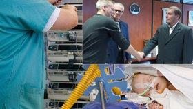 Dojatý tatínek děkuje plzeňským záchranářům: Zachránili život jeho osmidennímu synovi!