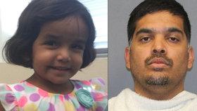 Dívka (3) zmizela poté, co ji otec vyhnal z domu, protože nedopila mléko