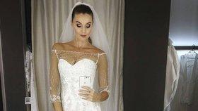 Po 15 letech konečně veselka? Kubelková se ukázala ve svatebních šatech!