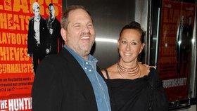 Návrhářka Dona Karran hájila úchyla Weinsteina z Hollywoodu: Teď sklízí hněv a urážky!
