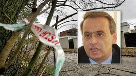 Policie objasnila vraždu elitního právníka Ernesta Valka: Jednou střelou ho zabil obyčejný lupič