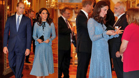 Kate konečně ukázala těhotenské bříško! Stále ji ale trápí potíže