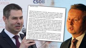 Kauza lithium: Blesk získal omílaný dopis. Co píše Brabec Havlíčkovi?