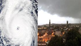 Ničivá bouře udeřila na Britské ostrovy: Zavřené školy a varování před kolapsem