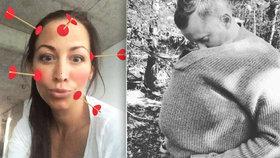 Pyšný Jakub Prachař se chlubí dcerou: Mia je moje tělo!