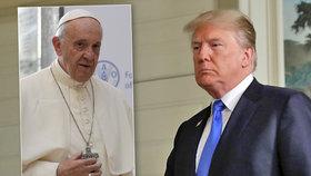 Papež kritizoval USA kvůli klimatu. Nelíbí se mu, že odstoupily od dohody