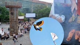 Jak si užít týden v Praze bez peněz? Zajděte na výstavu, za maďarským jídlem i na večeři se sousedy