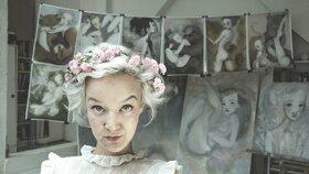 Naše oblíbená malířka Léna Brauner chystá výstavu. Pozor, trvá jen tři dny!