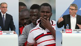 Potopit lodě a založit armádu Evropy: Takhle chtějí lídři vyřešit uprchlíky