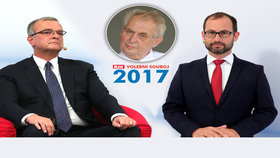 """""""Zeman baží po moci,"""" zaznělo varovně v superdebatě. Kdo by omezil práva prezidenta?"""