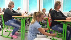 Ve školních lavicích si musíme odsedět až výjimečný trest: Škola ničí záda!