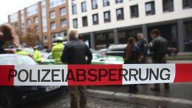 Střelba v Německu: Před supermarketem zastřelili muže, střelec je na útěku