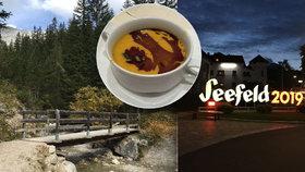 Rakouským Seefeldem za krásnými pohledy, skvělým jídlem i nezkrotnou přírodou