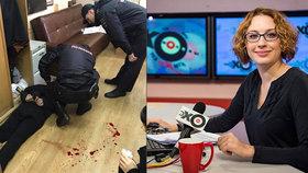 Útočník vtrhl do ruského nezávislého rozhlasu: Bodl novinářku do krku