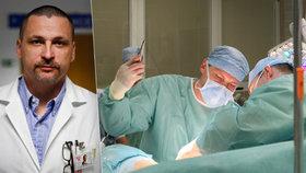 Elitní chirurg přesvědčuje Čechy: Darovat ledvinu je bezpečné. A co říká na obchod s orgány?