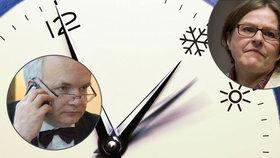 Změnu času zrušme, horují politici. Europoslankyně nevěděla, kdy porodila