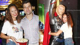 Monika Leová vzala snoubence do kina, mazlila se ale s jiným!