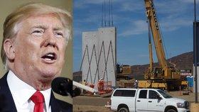 """Zpravodaj Blesku u ukázek Trumpovy zdi. """"Víc toho nepostaví,"""" míní místní"""
