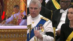 Pohřeb za 2 miliardy: Král se hrabal v popelu svého nebožtíka otce, přihlížel syn Alžběty II.