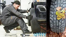 Přichází období zimních pneumatik: Bez nich vám pojišťovna neproplatí škodu!