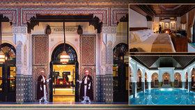 Nejkrásnější hotel na světě: La Mamounia v Marrákeši