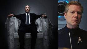 Netflix ruší seriál Dům z karet: Kvůli obvinění ze sexuálního obtěžování, kterému čelí Kevin Spacey?