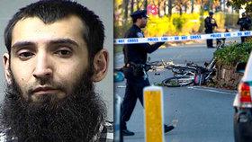 Terorista z New Yorku je na vraždu osmi lidí hrdý. Trump: Zvíře se zelenou kartou