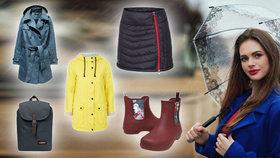 Móda do deště: Nechte se inspirovat těmito slušivými a praktickými kousky!