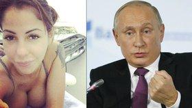 Do boje o Putinovo křeslo jde ruská pornoherečka. Slibuje smrt sexuálním násilníkům