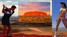 Dost bylo striptýzu a močení na posvátné hoře! Austrálie uzavře Uluru turistům
