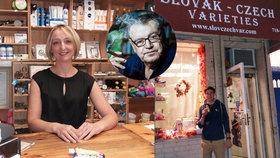 Našli jsme obchůdek vNew Yorku, kam chodí nakupovat slavní Češi: Forman sem jezdí pro okurky a sádlo