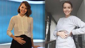 Gábina Lašková o těhotenství: Udělalo se mi zle!
