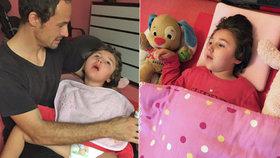 Karolínce (4) poškodila matka mozek? Zoufalý otec promluvil o osudné noci