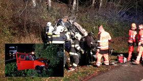 Kamion při předjíždění smetl dvě auta: Řidiči obou osobáků zemřeli