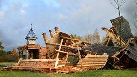 Vichřice Herwart napáchala v Česku škody za 1,37 miliardy. Šlo o druhou nejsilnější smršť