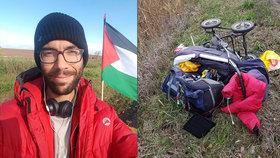 Pořádná ostuda: Švéda na pochodu pro Palestinu  napadli na Slovensku kvůli vlajce