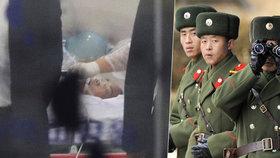 Voják prchl autem z KLDR! Jeho vlastní lidi na něj vypálili 40 kulek. Na svobodu musel běžet, padl do náruče lékařům