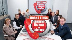 Horká linka Blesku: Na otázky o rakovině bez obalu odpovídali odborníci na telefonu