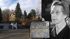 Tady žila Milada Horáková (†48). Ve vile na Smíchově bydlí žena, která si političku pamatuje
