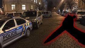 Sebevražda v Dejvicích? Mrtvý muž ležel v bytě s bodným zraněním