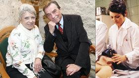 Setkání dvojice z Nemocnice na kraji města: Štěpánkovou a Němce svedl dohromady Alzheimer