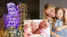 Předčasně narozené děti mají purpurový den. Hrozí jim i krvácení do mozku
