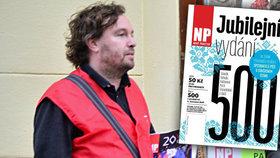 Bezdomovecký časopis: Lidé si »Nový prostor« koupí, ale pak ho neotevřou. Jeho šéfredaktor obsah mění