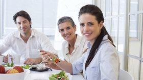 Vzorové jídelníčky pro ženy s nadváhou, které pracují v kanceláři