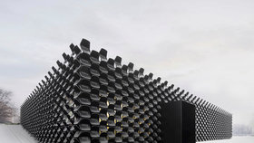 Grand Prix Architektů vyhrála prodejna nábytku, jejíž fasádu tvoří přes 900 židlí!