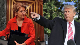 Trump označil senátorku za Pocahontas. Je to rasistické, rozčílila se